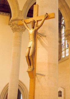 The Sanctuary Crucifix (Photo by Manuel Lavery)